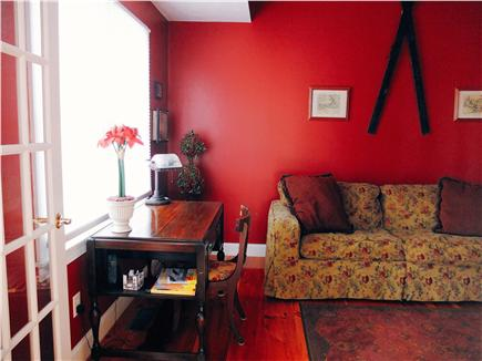 Hyannis Park/West Yarmouth Cape Cod vacation rental - The Downstairs Study with an amazingly comfortable Queen Sleeper