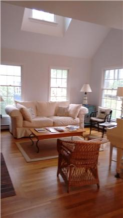 Wellfleet Cape Cod vacation rental - Living room from dining area