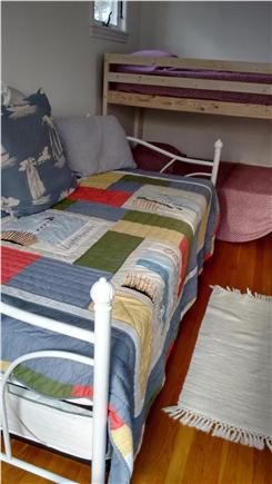 Wellfleet Cape Cod vacation rental - Bunk beds and sofa in loft