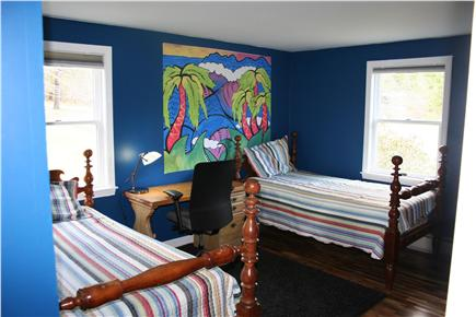 E. Harwich Cape Cod vacation rental - Bedroom 2. Two twin beds (can be replaced with 1 queen bed