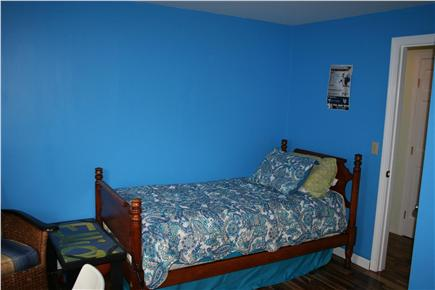 E. Harwich Cape Cod vacation rental - Bedroom 3. One twin bed with an extra mattress that framed.