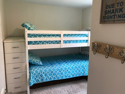Chatham Cape Cod vacation rental - Twin bunks in bedroom two