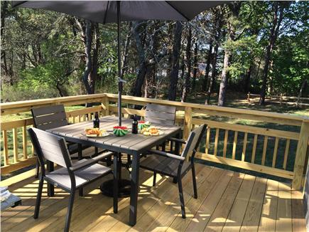 Chatham Cape Cod vacation rental - Enjoy the sunset on the new deck