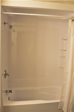 E. Harwich Cape Cod vacation rental - New Master Tub/Shower