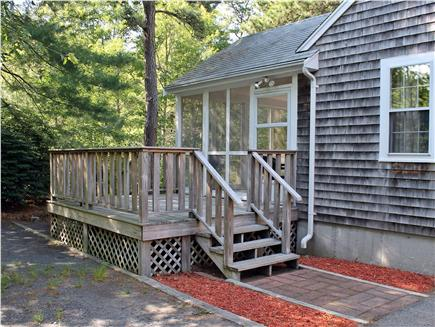 E. Harwich Cape Cod vacation rental - Side Deck