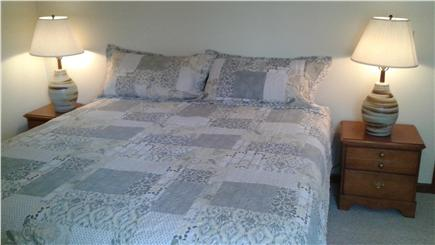 E. Harwich Cape Cod vacation rental - Master King Bed