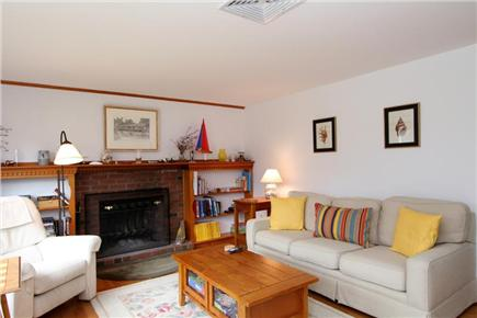 Dennis Cape Cod vacation rental - Bright and comfortable living area with TV