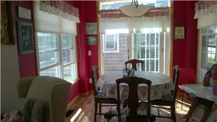 Harwichport Cape Cod vacation rental - Eating area