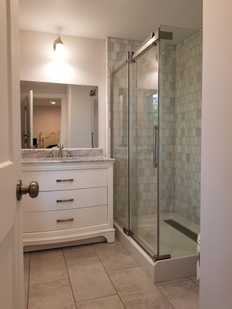 Harwichport Cape Cod vacation rental - 2nd home gorgeous master bathroom