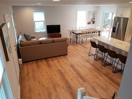 Harwichport Cape Cod vacation rental - 2nd home, kitchen, living, dining and patio