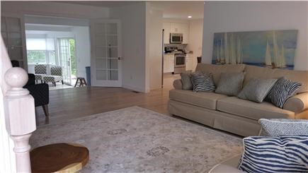 Harwichport Cape Cod vacation rental - Main house large living room