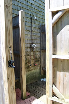 Dennisport Cape Cod vacation rental - Outdoor shower