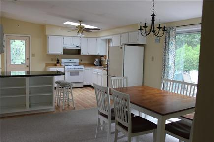 Dennisport Cape Cod vacation rental - Dining room -new table & chairs