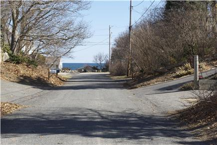 Plymouth MA vacation rental - View to ocean at end of the street