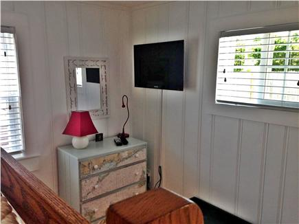 West Dennis Cape Cod vacation rental - Bunk Bed Room w / Two Twin Beds and TV