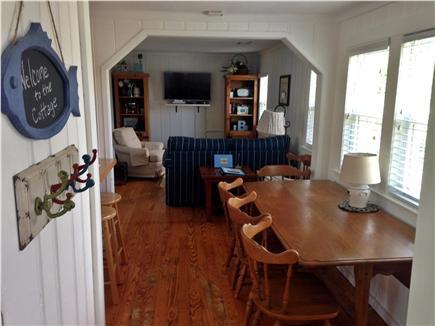 West Dennis Cape Cod vacation rental - Dining / Living Room Area