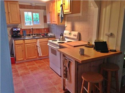 West Dennis Cape Cod vacation rental - Kitchen w/ New Breakfast Counter