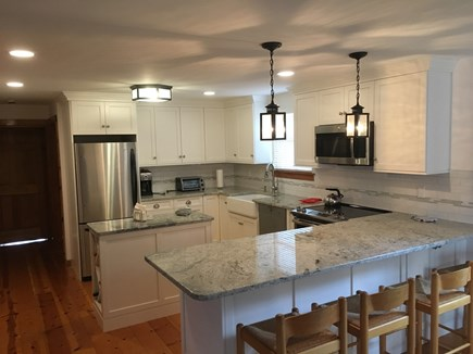 Eastham Cape Cod vacation rental - Newly renovated kitchen adjacent to dining room.