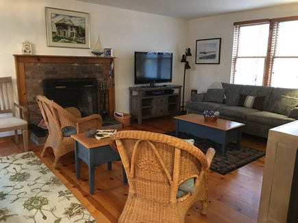 Eastham Cape Cod vacation rental - Living Room with cable TV