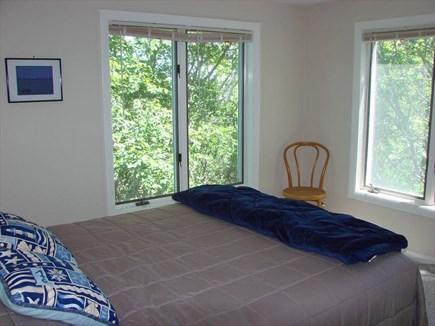 Provincetown Cape Cod vacation rental - Queen bed in second floor back bedroom