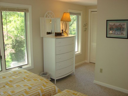 Provincetown Cape Cod vacation rental - Second floor bedroom with two single beds