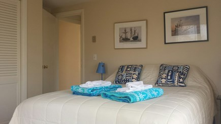 Provincetown Cape Cod vacation rental - Second floor bedroom with queen bed, other view