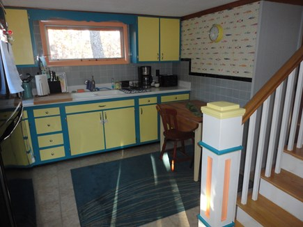 Wellfleet Cape Cod vacation rental - Kitchen opens to screened in porch