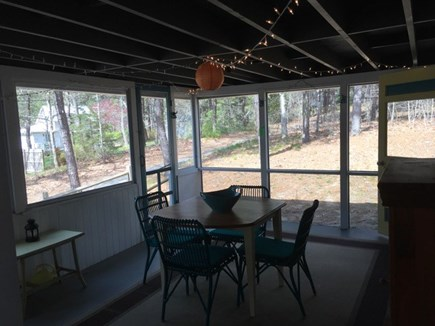 Wellfleet Cape Cod vacation rental - Screened porch access from kitchen & living room