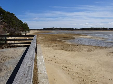 Wellfleet Cape Cod vacation rental - Town landing low tide for strolling along and shelling