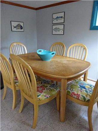 Wellfleet Cape Cod vacation rental - Dining open to living room