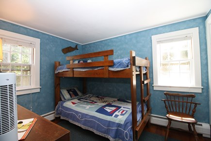 Dennis Port Cape Cod vacation rental - Delightful 2nd bedroom with twin bunks