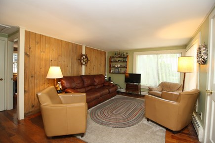 Dennis Port Cape Cod vacation rental - Enjoy the cozy living room with cable TV and wifi