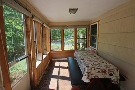 South Yarmouth Cape Cod vacation rental - Screened-in porch
