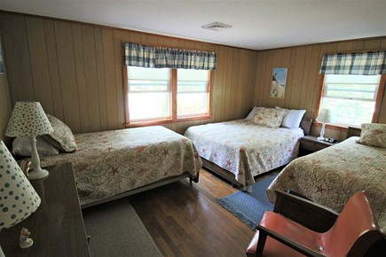 South Yarmouth Cape Cod vacation rental - A full and two twins are in this bed room