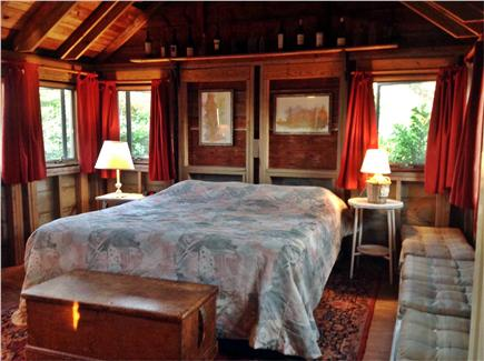 Brewster Cape Cod vacation rental - Master bedroom (now with king)