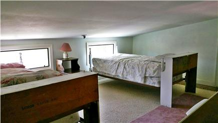 Barnstable Harbor Cape Cod vacation rental - Loft area - note short ceiling