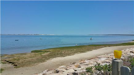 Barnstable Harbor Cape Cod vacation rental - Beach at 3/4 tide