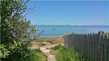 Barnstable Harbor Cape Cod vacation rental - Private access to Safe private beach on Cape Cod Bay