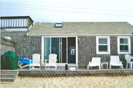 Dennis Port Cape Cod vacation rental - Deck B from our beach
