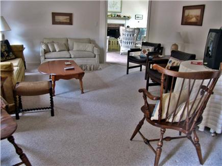 Brewster Cape Cod vacation rental - Living room with TV