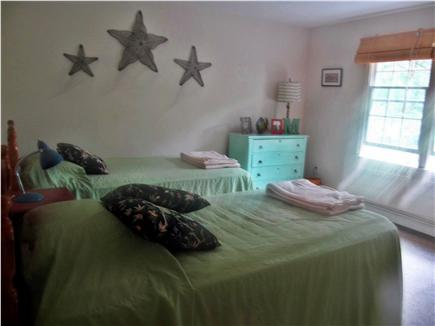 Brewster Cape Cod vacation rental - Upstairs bedroom-two twins