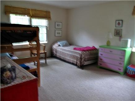 Brewster Cape Cod vacation rental - Childrens room; bunk beds and twin with trundle bed