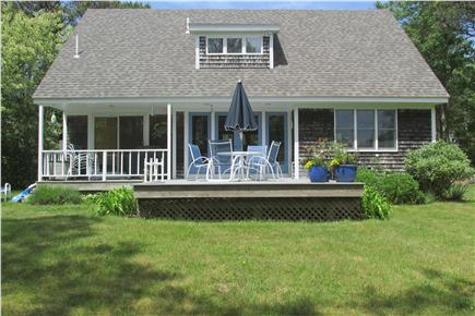 East Orleans Cape Cod vacation rental - Deck and back yard
