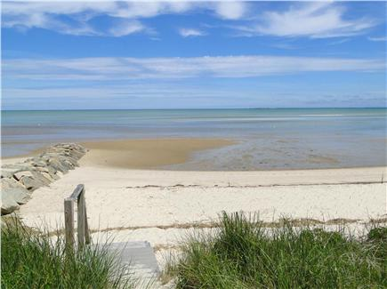 Brewster Cape Cod vacation rental - Private beach - Swim at high tide, explore the flats at low tide
