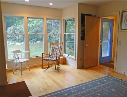 Brewster Cape Cod vacation rental - 1st floor day room with full-size futon and 1/2 bath