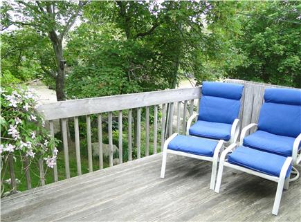 Brewster Cape Cod vacation rental - 2nd floor deck from which to enjoy the water view