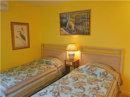 Brewster Cape Cod vacation rental - Twin bedroom with air conditioning and views of Cape Cod Bay