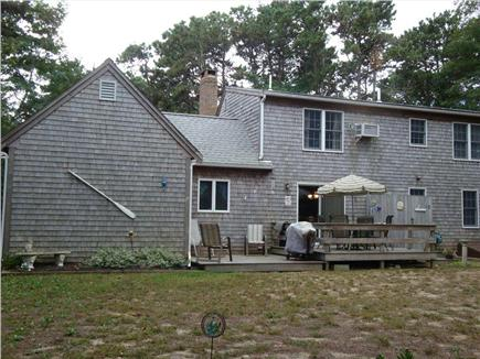 Eastham Cape Cod vacation rental - Back with deck and outside shower