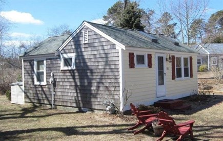 Eastham Cape Cod vacation rental - Side view