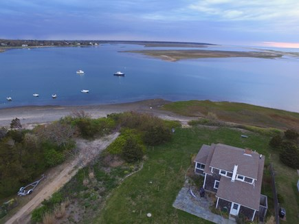 Orleans Cape Cod vacation rental - Aerial view of home